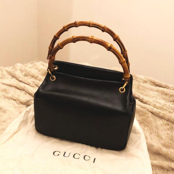 93a29d70ea75 Gucci Handbags - Gucci Mini Bamboo Shopper ~ Vintage!